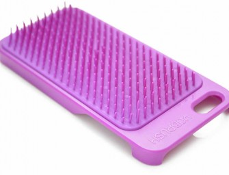 YoBrush: A combination iPhone cover and Hairbrush is the answer to all your grooming problems