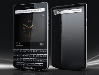 Blackberry and Porsche launches P'9983, the Premium Qwerty Smartphone