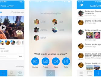 Facebook's upcoming app Moments will let you share stuff privately