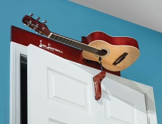 Guitar Doorbell makes your entry musical!