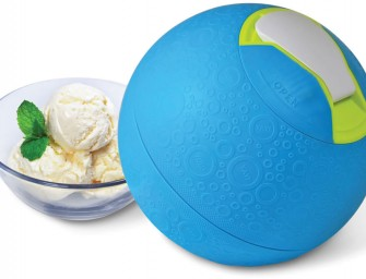 Kickball Ice Cream Maker ensures treat, if you workout!