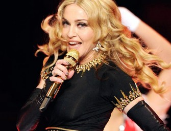 Is Madonna singing her next single with Siri?