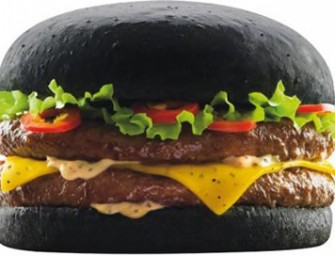 McDonalds Japan introduces their own version of goth burgers for Halloween — the black-bun Squid Ink Burgers