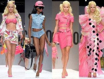 Moschino's Spring Collection celebrates Barbie!