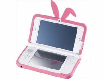 Nintendo 3DS LL CYBER Bunny Cover is the cutest ever