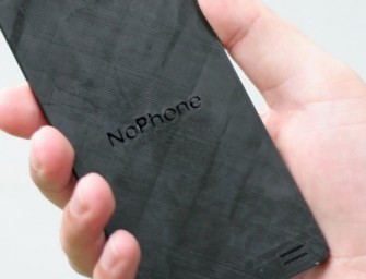 Can this noPhone help you to keep away from technology?