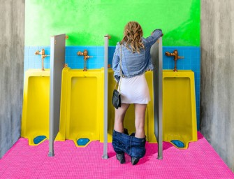 Stand-Up Pee Device Allows Women to Pee like a Man