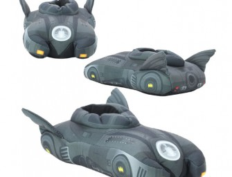 DC Comics Batman Batmobile Slippers are Awesome