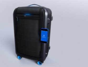 Bluesmart: The smart, connected carry on ensures you never lose your luggage