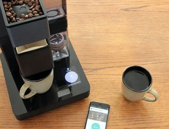 The Bruvelo Smart, WiFi-Connected Pour-Over Coffee Brewer: Smartphone makes the best coffee
