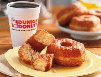 Dunkin' Donuts introduces limited edition Croissant Donut