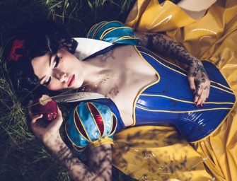 PVC Snow White Costume by Artifice Clothing