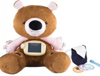 Jerry the Bear helps kids deal with Diabetes through playful education