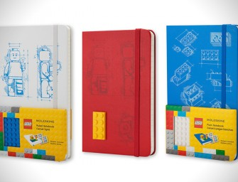 Moleskine LEGO Limited Edition Notebook (2014)  is a must-have this semester