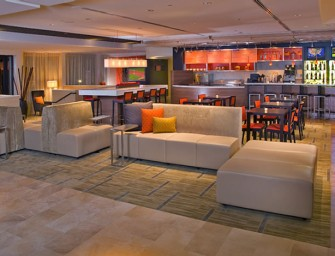 Marriott introduces wireless charging for mobile devices in their hotel lobbies