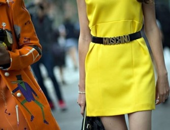 The iconic Moschino Logo Belt is also the most counterfeited! Is yours a fake?