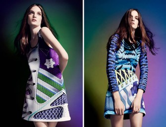 Adidas collaborates with Mary Katrantzou on hyper-colorful athleisure collection