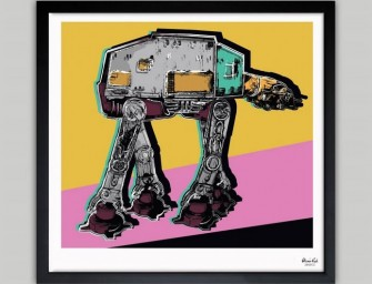 Warhol-style AtAt Art Impresses All