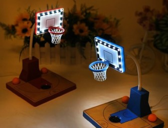 Basketball LED Desk Lamp Looks Cute and Entertaining