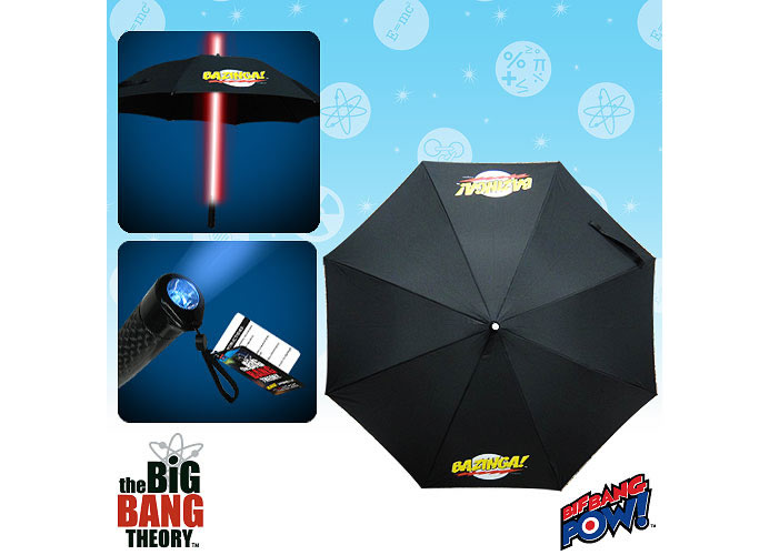 Bazinga Light Up Umbrella For Big Bang Theory Fans