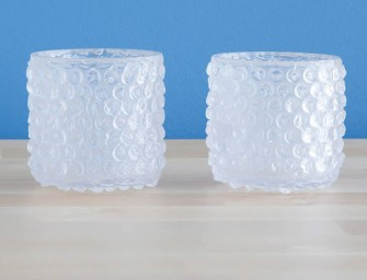Bubble Wrap Glass Set for The Obsessed