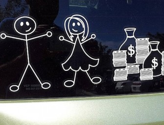 Childfree Family Car Sticker: A life decision displayed proudly