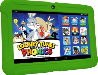 ClickN KIDS Tablet 2: The first Kid Safe Certified learning tablet built upon Intel hardware