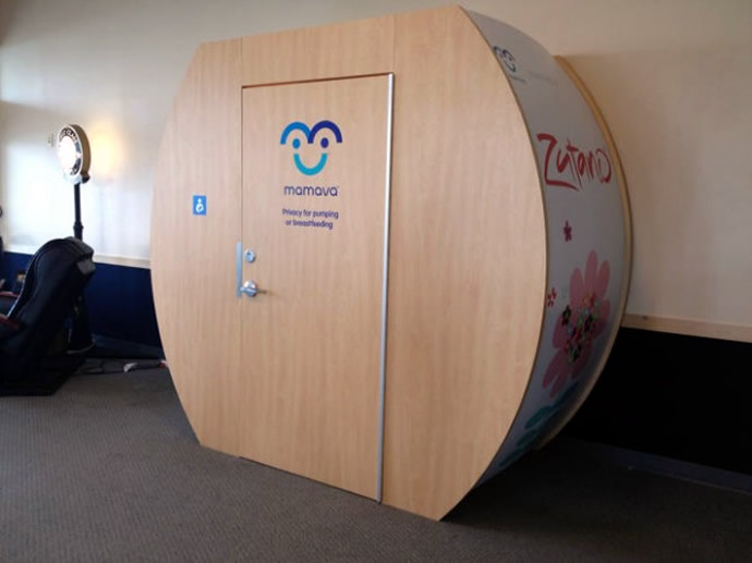 Mamava Lactation Suites: Comforting and Essential
