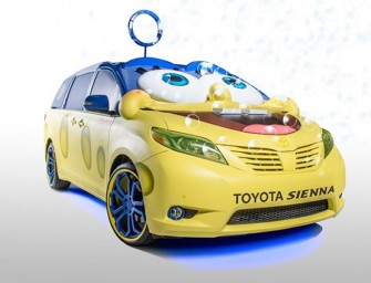 World got Better with a SpongeBob SquarePants-themed Sienna