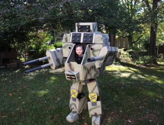 Mechdaddy Halloween Costume Steals the Show