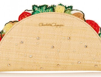 Mexican Treat: Charlotte Olympia's Taquera Taco Clutch