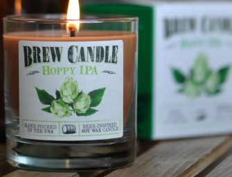 Brew Candles: Set the mood this evening with the gorgeous Beer Scented Candles