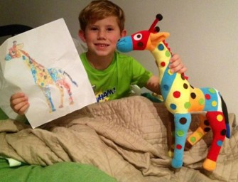 Budsies turns your child's doodles into plush toys!