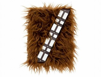 Chewbacca Journal Stores it All with a Guttural Cry