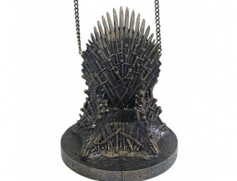 The Game of Thrones Iron Throne Ornament is the perfect stocking stuffer