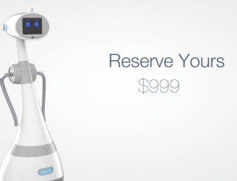 Live the Future with Luna Personal Robot