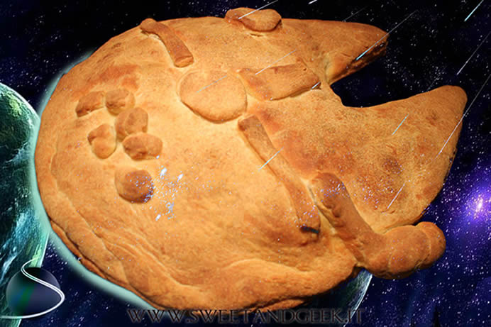 Millennium Falcon Pie: What a piece of Junk-Food!