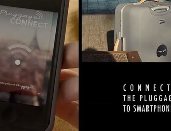 Pluggage is a smart Suitcase, that can weigh itself