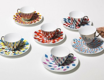 Geometric Tea Cups Refect Design and Impress