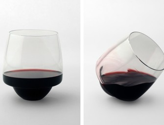 Saturn Wine Glasses for a Spillproof Evening