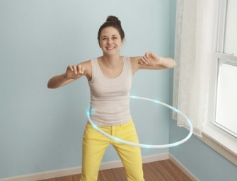 Shrink That Waist with Smart Hula Hoop