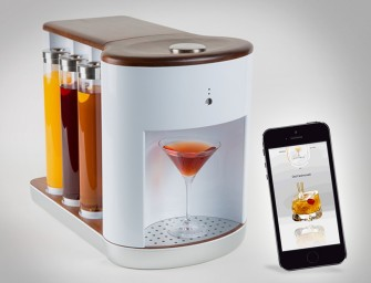 Somabar is the cocktail machine, you want this Christmas!