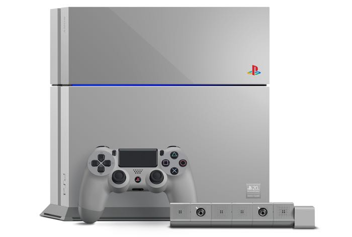 Sony unveils a special 20th anniversary PlayStation 4 console