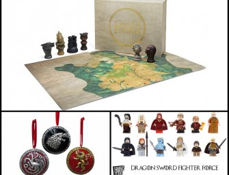 Top 5 Christmas Gifts for the Game of Thrones Fans