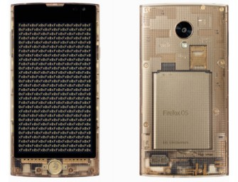Fx0 Firefox smartphone by LG is completely transparent