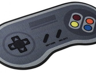 16-Bit Game Controller Doormat: A reminder of the good old days