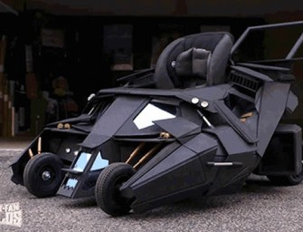 The Batmobile Stroller will make you want to be a baby again!