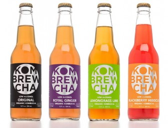 Kombrewcha: The Kombucha tea brew with the kick of beer and health benefits of the ancient tea