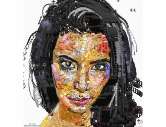 Spectacular: Artist Creates Celebrity Portraits using only Emojis