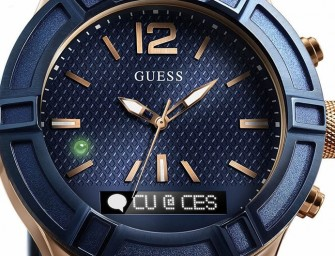 Guess Connect: A fashionable smart watch powered by Martin